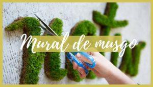 Mural de musgo